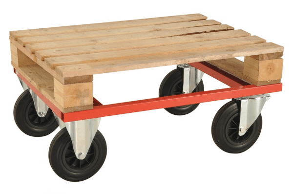 Halvpall vagn