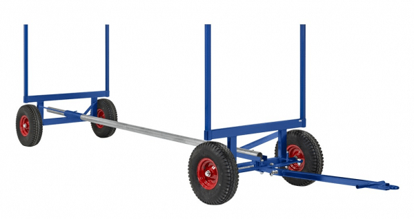 Långgodsvagn 3500 kg 4000x1270x640 mm