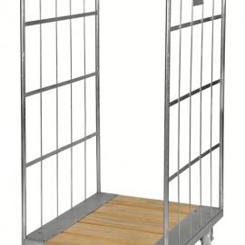 Rullcontainer med träbotten 1600x800x710 mm