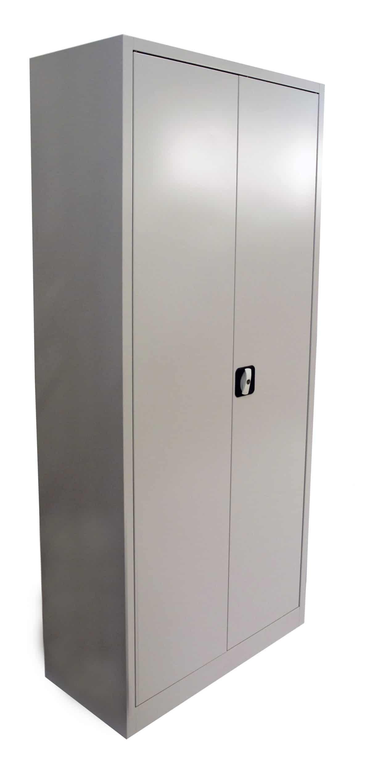 Förvaringsskåp i plåt grå 1800x800x380 mm För arkivering& förvaring
