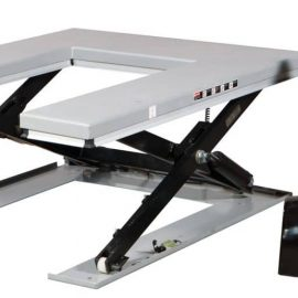 Elektriskt lyftbord för pallhantering