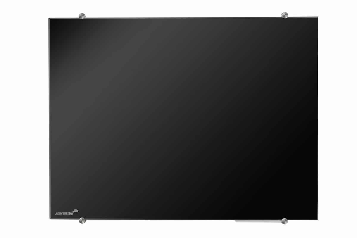 Toppen Magnetisk skrivtavla i glas - svart 400X600 mm | Whiteboards CO-95