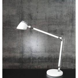 Skrivbordslampa Valencia vit