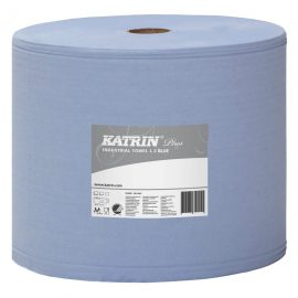 Torkrulle 2-lag Katrin Plus L2 Nyfiber. 2-pack Blå