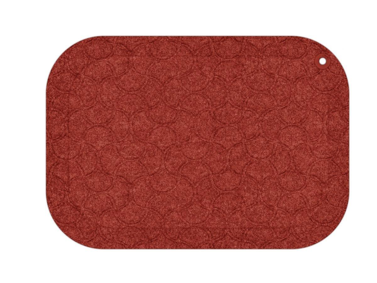 StandUp - ergonomisk arbetsplatsmatta - Röd