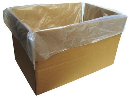 Livsmedelsgodkänd insatspåse för plastbackar och kartonger 500 st