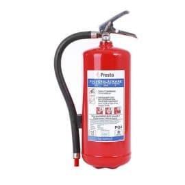 Brandsläckare PRESTO | 4 kg ABC-pulver