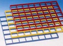 Galler till plasttralla 605x405x20 mm
