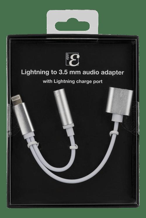 Iphone laddkabel med 3,5 mm uttag Ladda och lyssna samtidigt