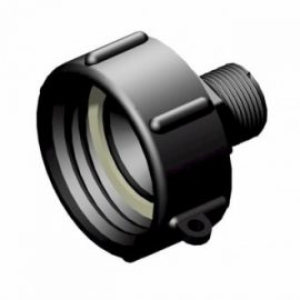 IBC adapter 60x6 till BSP 3/4 tum