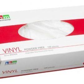Engångshandske - puderfri vinylhandske 100 st