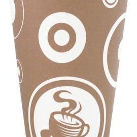 Kaffemugg papper 25 cl - 50-pack