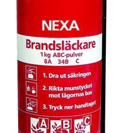 Brandsläckare 1 kg | Pulversläckare Nexa