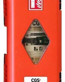 Brandsläckarskåp | Skåp för brandsläckare 6 kg