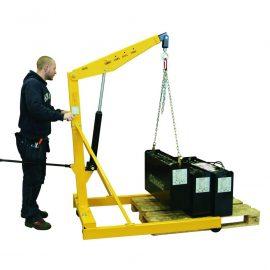 Verkstadslyft 1000 kg - Benstativ anpassad för EUR-pall