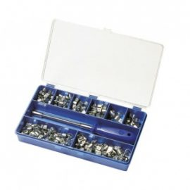 ABA slangklämmor - sortimentslåda mini 120