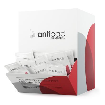 Handdesinfektion Antibac servetter 250 st