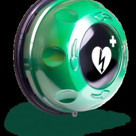Rotaid Solid Plus - Larmat skåp för alla hjärtstartare
