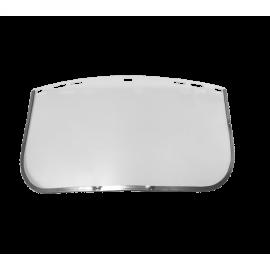 Utbytesvisir till ansiktsvisir FE-V1 - Klar lins med aluminiumkant