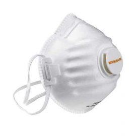 5-pack filtrerande andningmask för bygg och anläggning - slipning mm