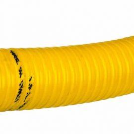 Tryck- och sugslang - Gul köldbeständig PVC