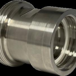 Rostfri IBC adapter DIN 11851 - 60x6