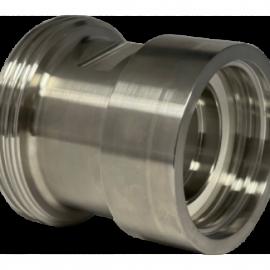 Rostfri IBC adapter 60x6 - SMS 1145 mejerikoppling